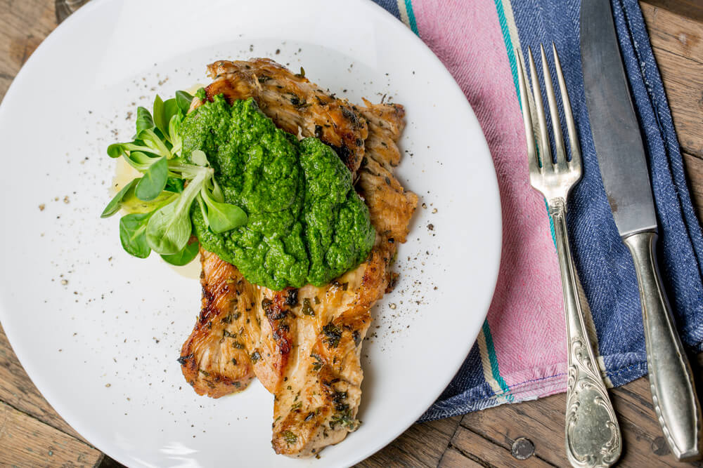 Recette Du Poulet Au Pesto