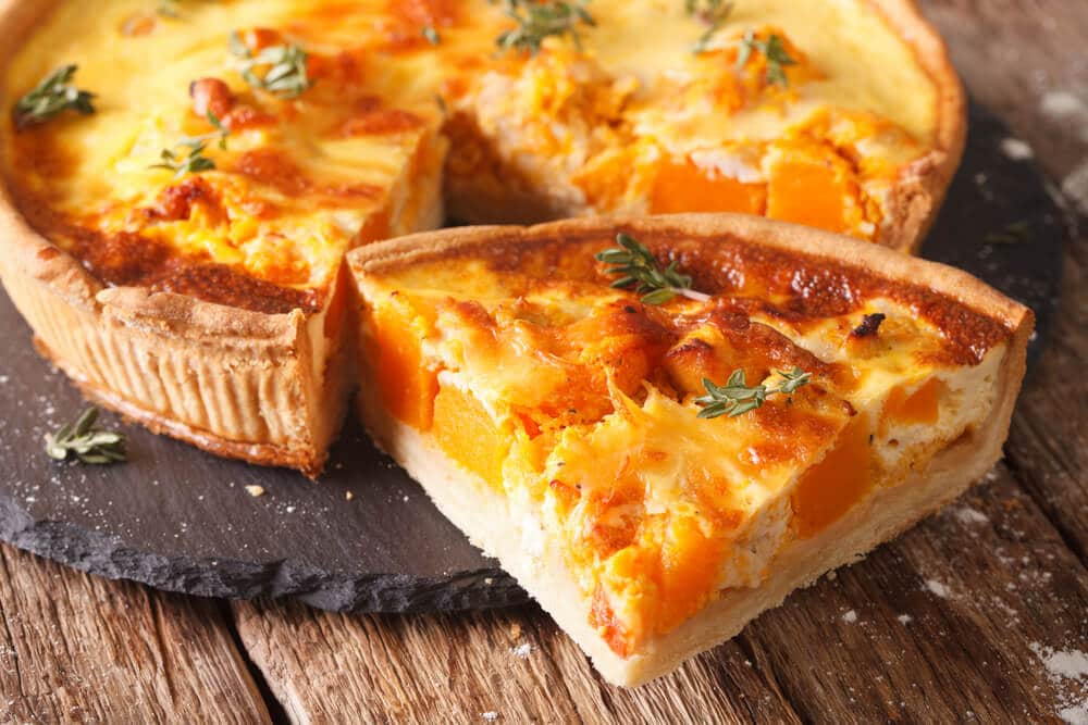 Quiche Au Butternut