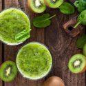 Smoothie épinards Kiwi