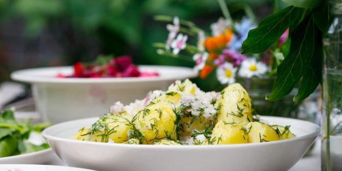 Salade De Pommes De Terres Sans Lactose