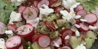 Salade De Printemps : Radis, Concombre, Feta