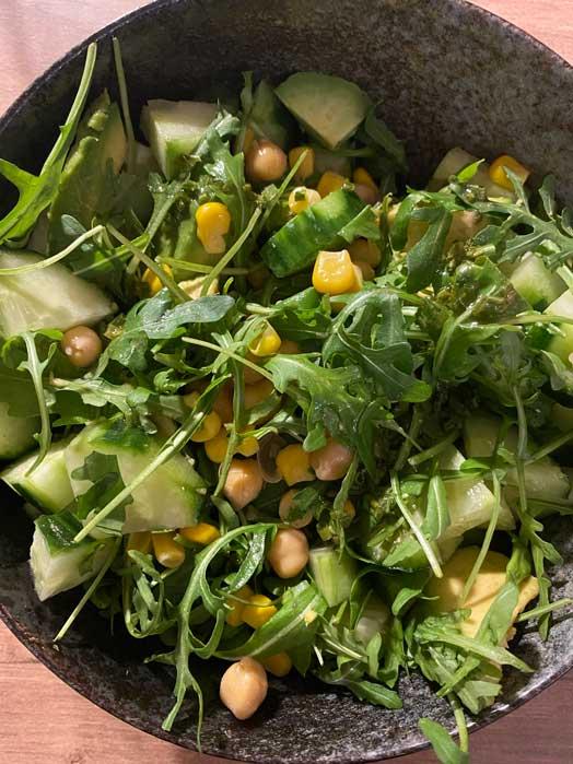 salade végétarienne healthy