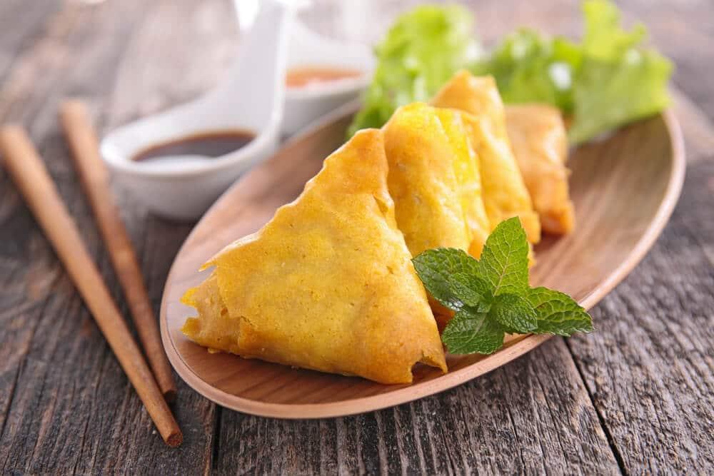 Samoussas Végétariens Sucrés-salés