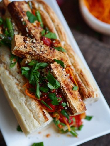 Sandwich Vegan Au Tofu