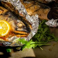 Poissons Healthy En Papillote
