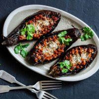 Aubergines Farcies Aux Lentilles Healthy