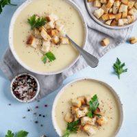 Soupe De Poireaux Et Pommes De Terre Sans Lactose