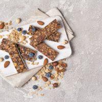 Barres énergétiques Avoine Et Myrtilles Sans Gluten