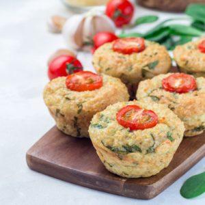 Muffins Au Quinoa Et Au Chou Frisé Healthy
