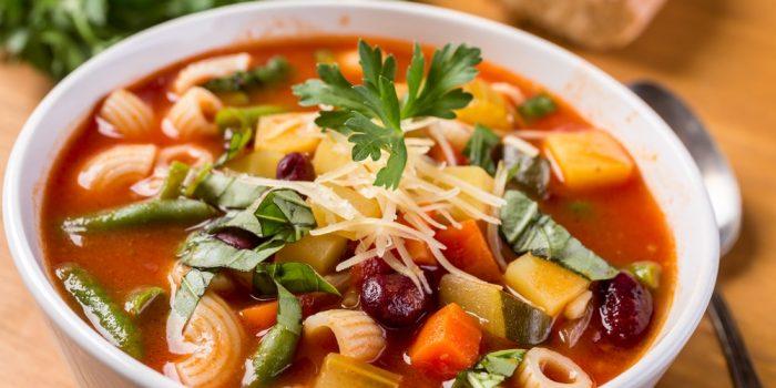 Recette Healthy De Soupe Minestrone