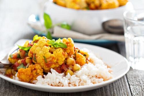 Recette Saine Chou-fleur Au Curry