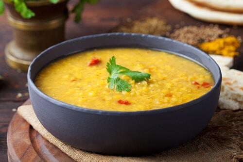 Recette Saine Lentilles Au Curry