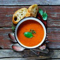 Soupe Aux Tomates Rôties Healthy