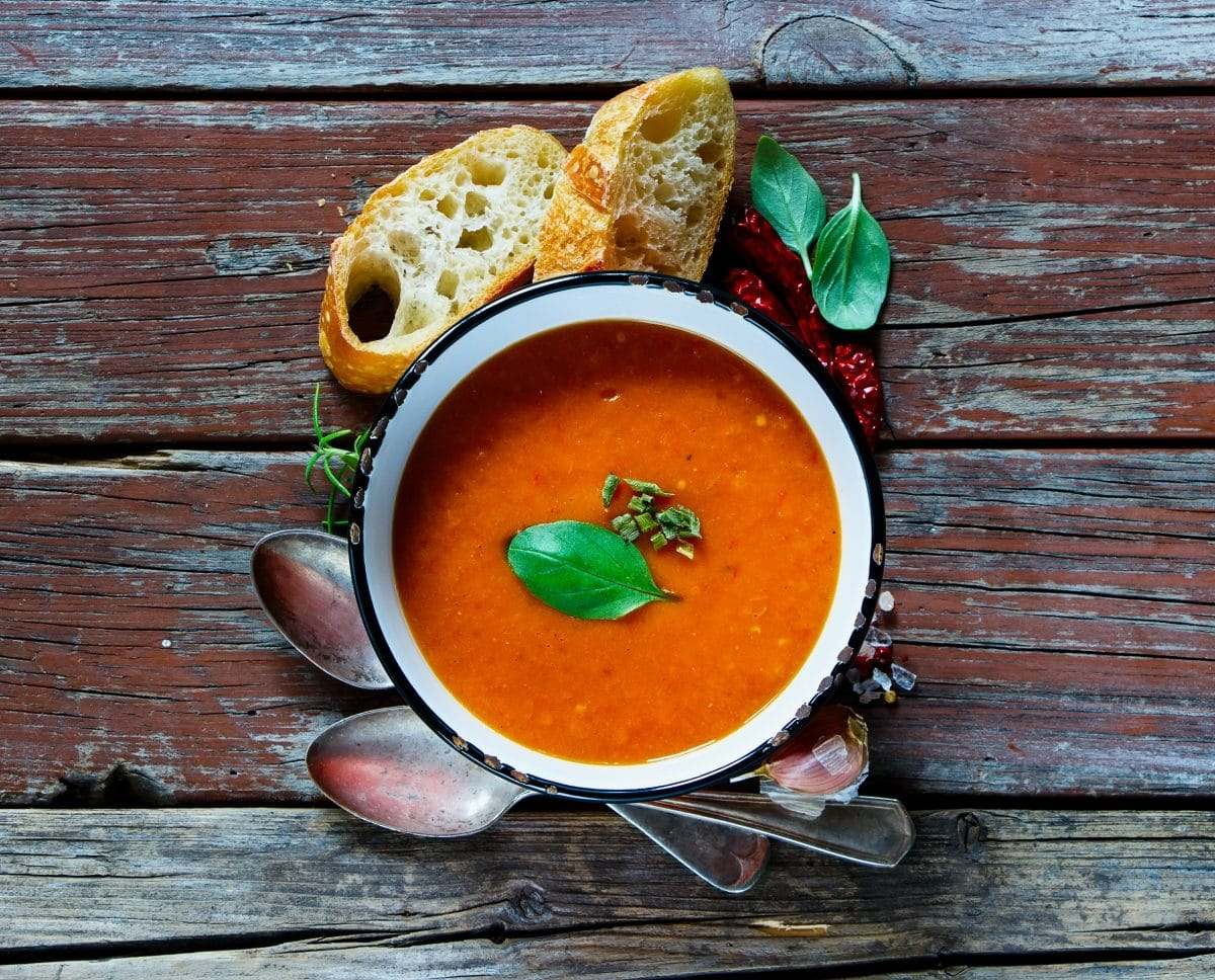 Soupe Aux Tomates Rties Healthy