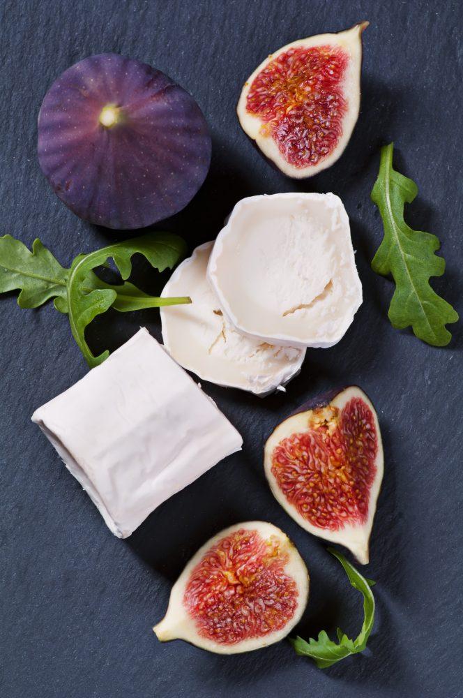Figues Fourrees Aux Pignons De Pin Et Fromage De Chevre