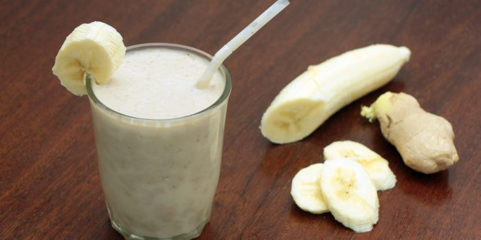 Smoothie Banane Et Gingembre