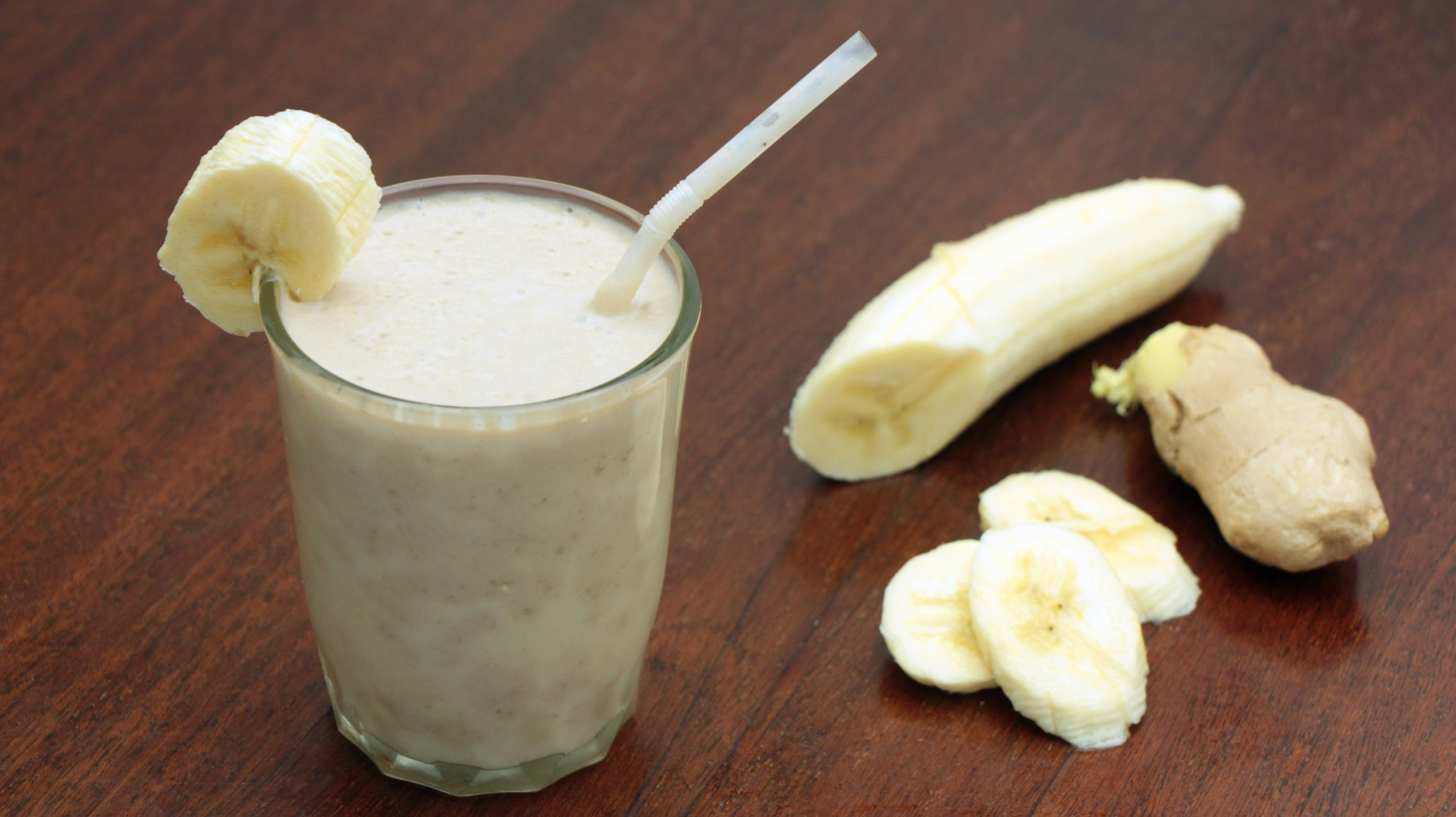 Smoothie Banane-gingembre