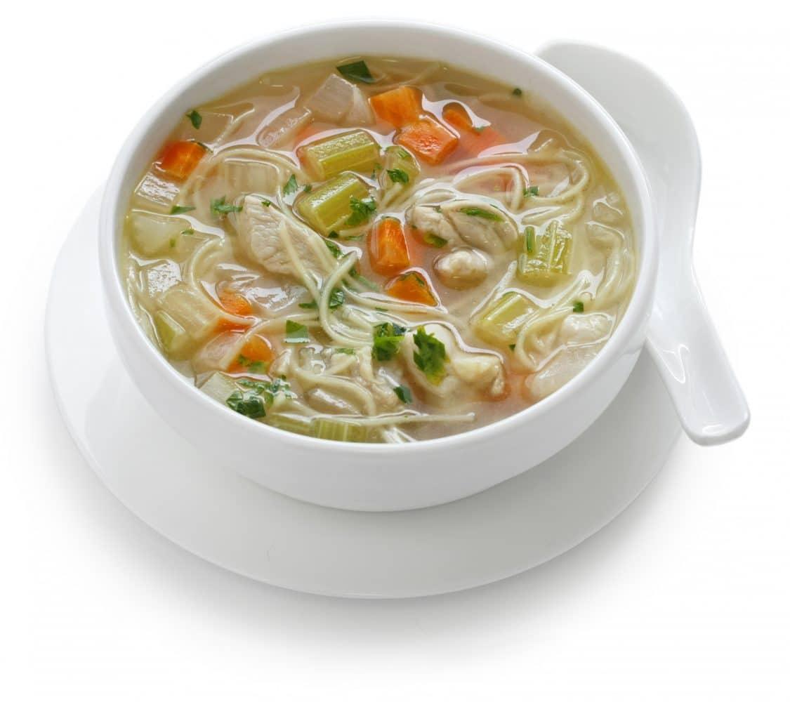 Soupe De Nouilles Aux Courgettes Et Carottes Healthy