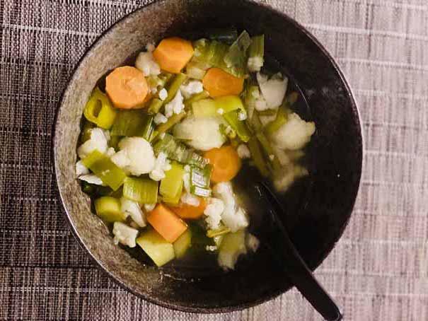 Soupe De Légumes Rapide