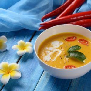 Soupe Thaï à La Courge