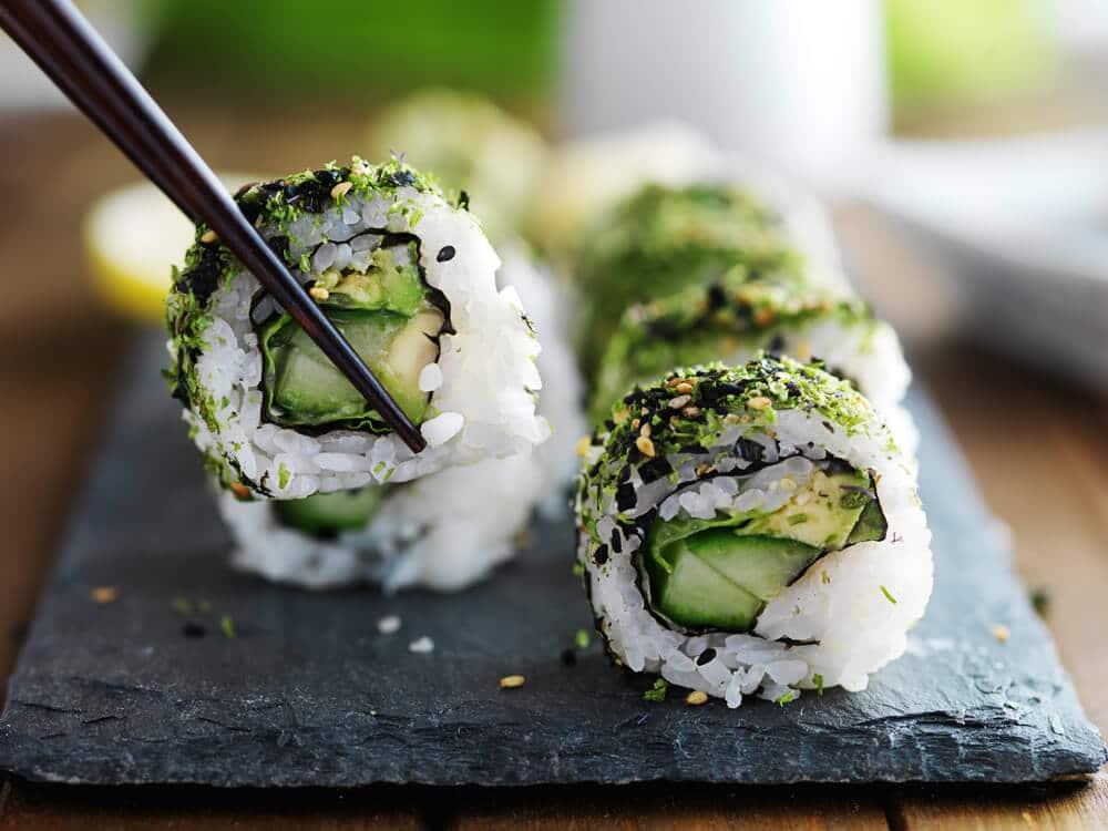 Sushi Aux Asperges