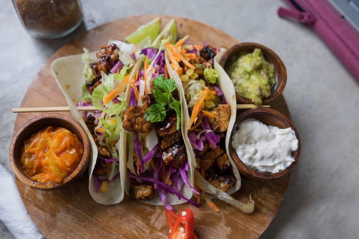 Tacos Coréens Au Tofu