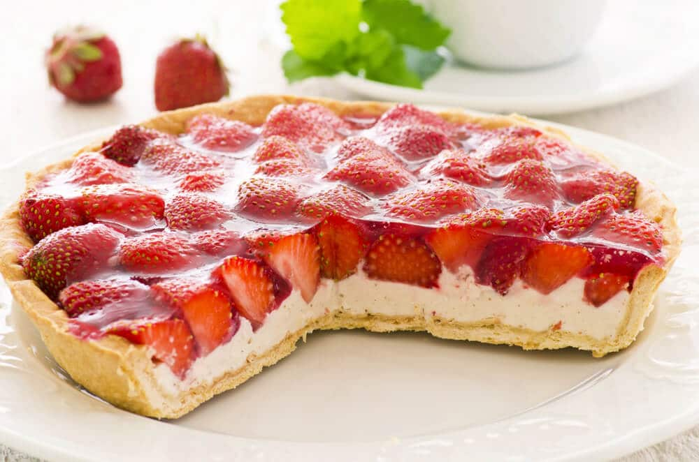 Recette De La Tarte Feuilletée à La Crème De Fraise