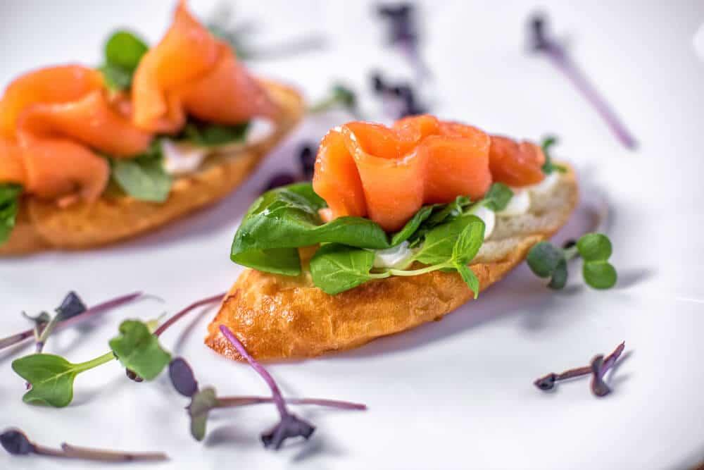 Recette Des Tartines De Saumon Et Patates Douces