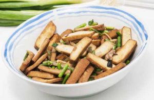 tofu fumé pour une raclette végétarienne ou raclette healthy